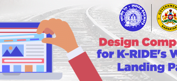 Design Competition For K Rides Website Landing Page