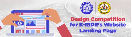 Design Competition For K Rides Website Landing Page