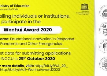 Inviting Applications For The Unesco Bangkoks Wenhui Award 2020