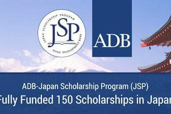 Asian Development Bank-Japan Scholarship Program (Adb-Jsp) 2021