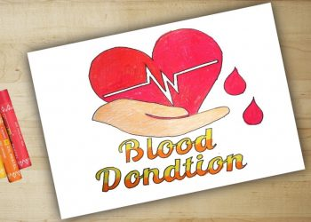Create Artwork To Inspire Blood Donation
