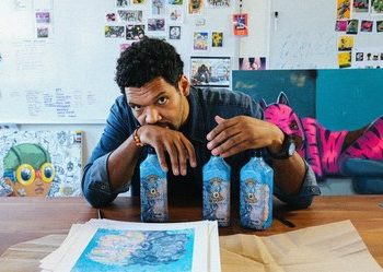 Create Limited Edition spray can designs for Bombay Sapphire