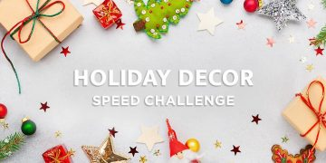 Holiday Decorations Speed Challenge By Instructables