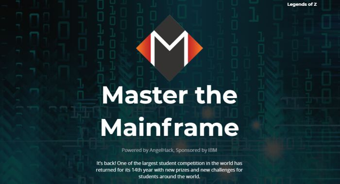 Master The Mainframe Competition Organized By Ibm And Angelhack