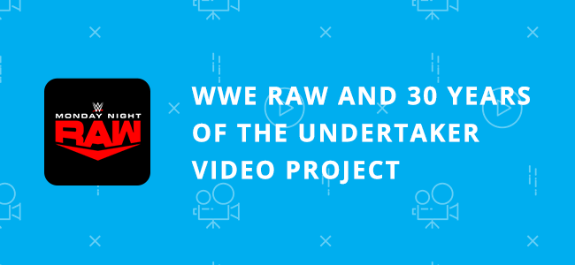 Wwe Raw The Undertaker Video Project 30 Years
