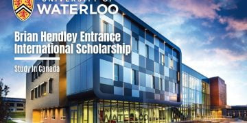 University Of Waterloo Brian Hendley Entrance International Scholarship In Canada 2021