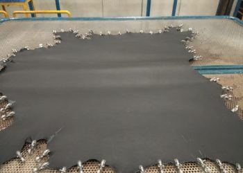 Automation Of Toggling The Leather Hides