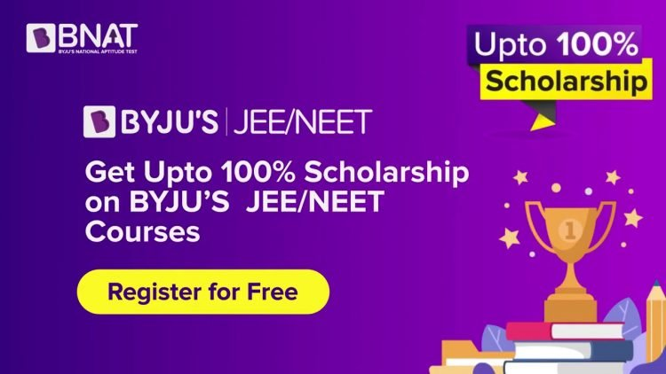 Byju'S National Scholarship - Bnat