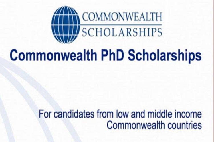 Commonwealth Phd Scholarships