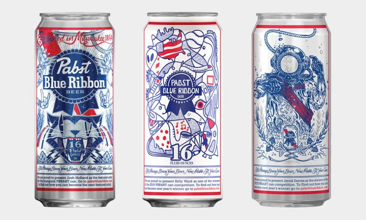 Design Artwork For Pabst Blue Ribbon Art Can Contest 2020