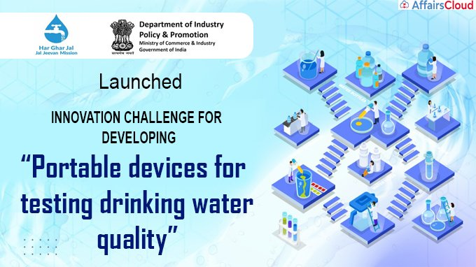 Innovation Challenge to Develop Portable Device for Water Quality Testing