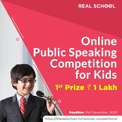 Real School National Level Public Speaking Competition