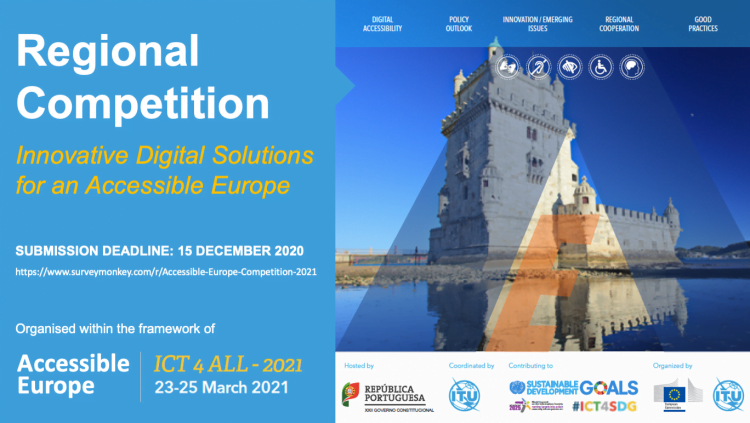 Regional Competition For Innovative Digital Solutions For An Accessible Europe 2021