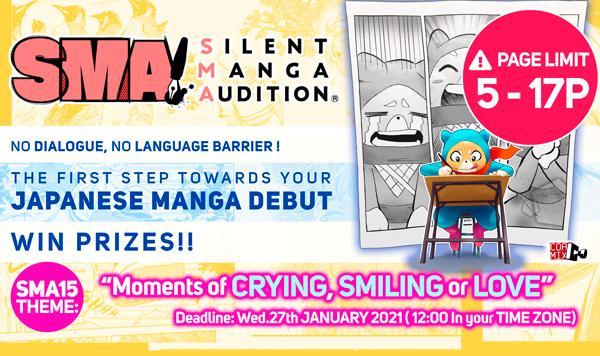 Sma Silent Manga Audition