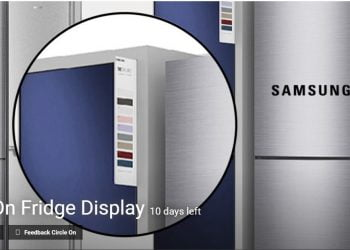 Samsung On Fridge Display Competition