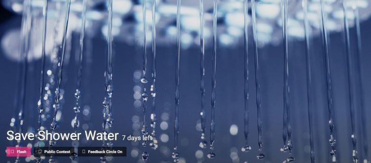 Save Shower Water Competition