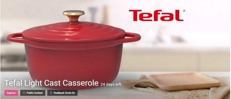 Tefal Light Cast Casserole Competition