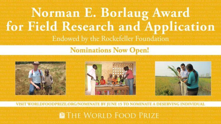 The Borlaug Field Award