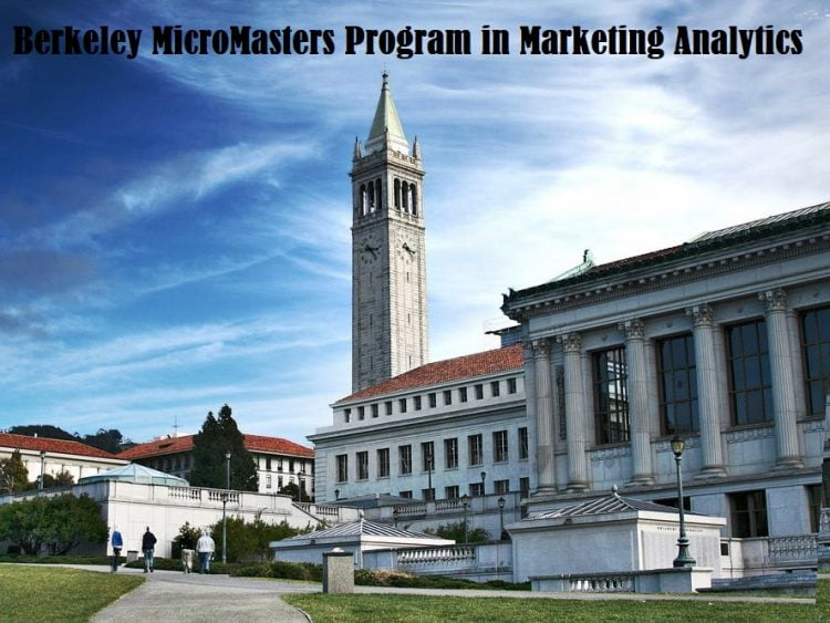 Berkeley Micromasters Program In Marketing Analytics
