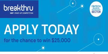 Breakthru Fintech Startup Competition