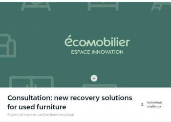 Consultation New Recovery Solutions For Used Furniture Competition