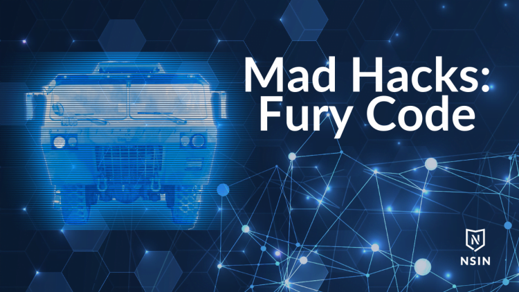 Mad Hacks Fury Code Competition