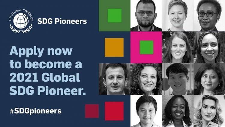 SDG Pioneers Program 2021