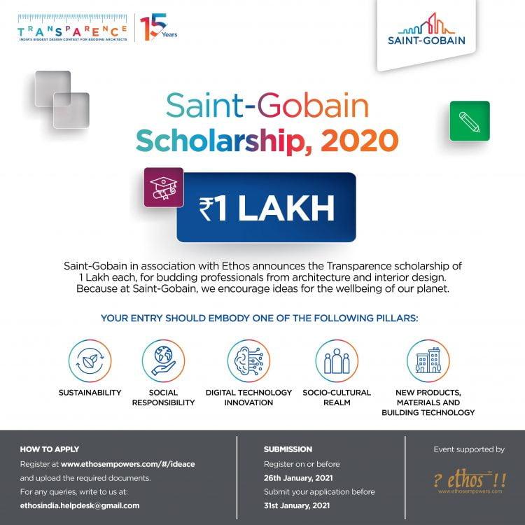 Saint-Gobain Scholarships 2020