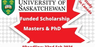 University Of Saskatchewan Graduate Scholarship
