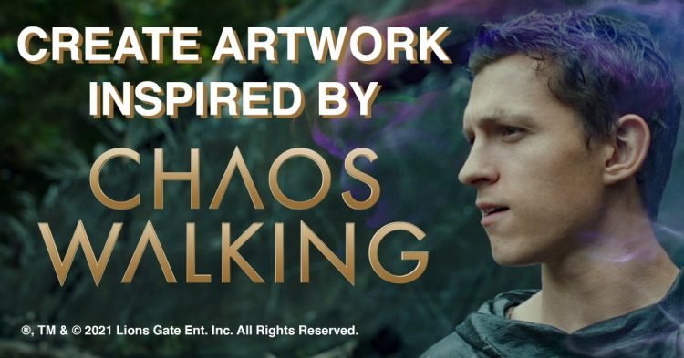 Create Artwork Inspired By Chaos Walking