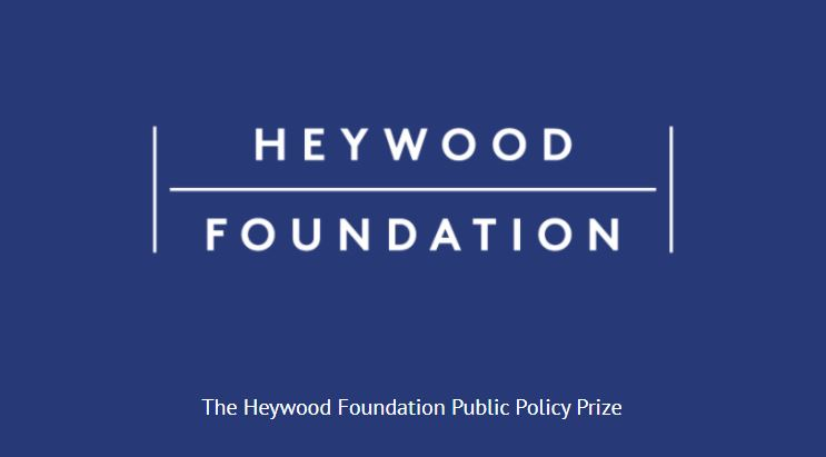 Heywood Foundation Public Policy Prize