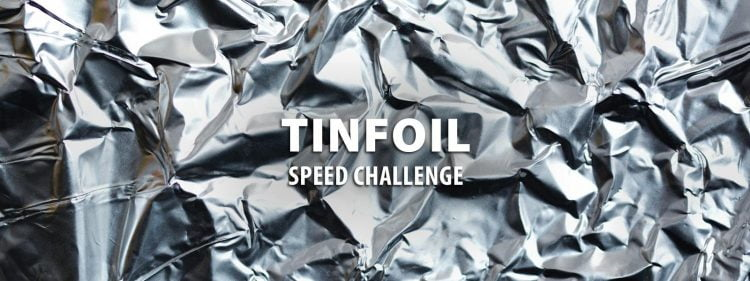 Instructables Tinfoil Speed Challenge