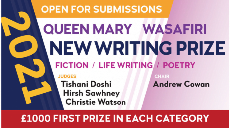 Queen Mary Wasafiri New Writing Prize 2021