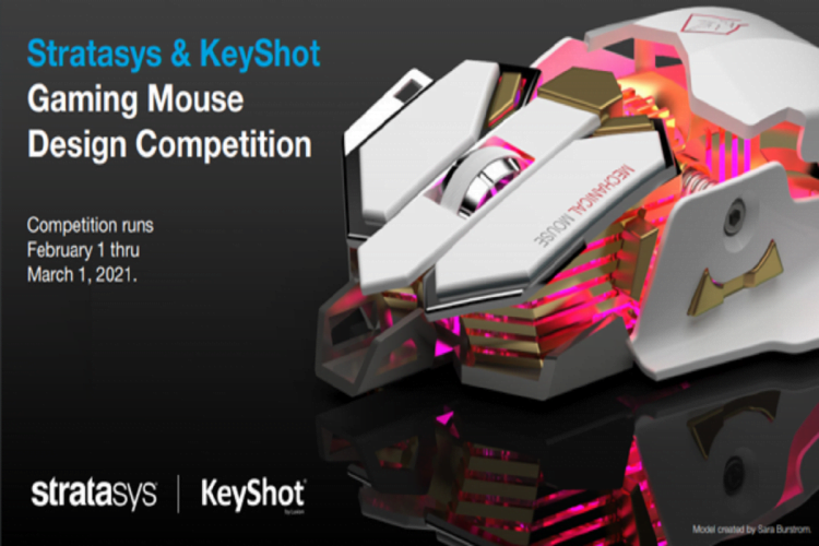 Stratasys &Amp; Keyshot Gaming Mouse Design Competition