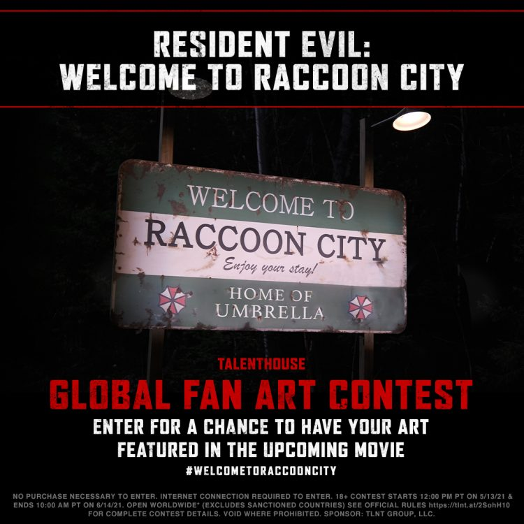 Create Poster Artwork Inspired By Umbrella Corp And Resident Evil