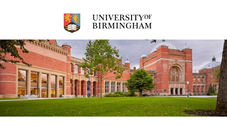 Global Masters Scholarship University of Birmingham 2021