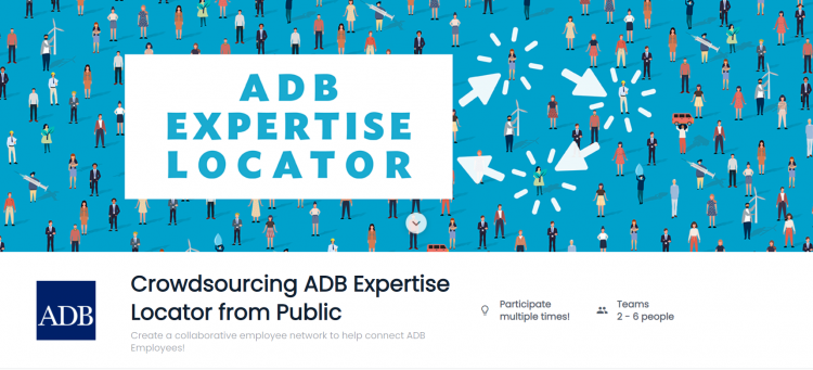 Crowdsourcing ADB Expertise Locator from Public Competition