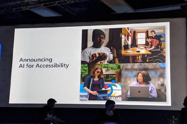 Microsoft AI for Accessibility grants
