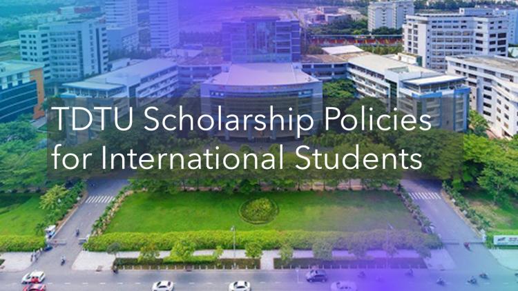 TDTU Scholarship Policies for International Students