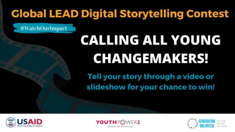 Youth Leads Digital Storytellers Contest