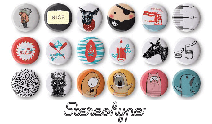 17th Stereohype Button Badge Design Competition