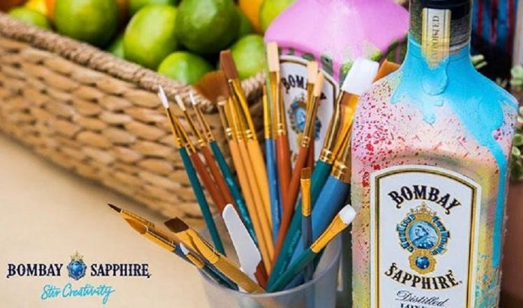 Create A Piece Of Art For Bombay Sapphire