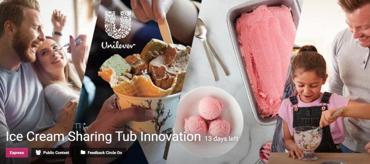 Ice Cream Sharing Tub Innovation