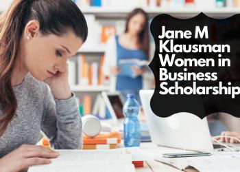 Jane M. Klausman Women in Business Scholarship