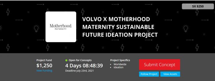 Motherhood x Volvo Sustainable Future Ideation Project