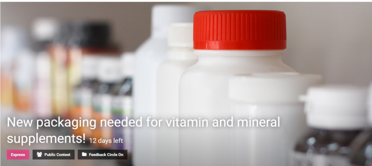 New Packaging Needed For Vitamin And Mineral Supplements Competition