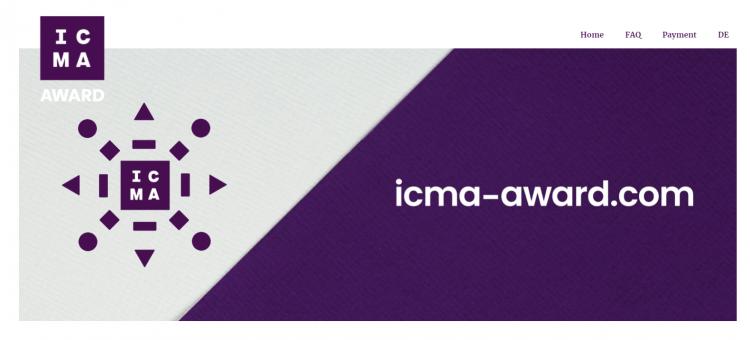 12th ICMA – International Creative Media Award Competition