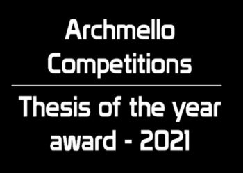 Archmello Thesis Of The Year Award