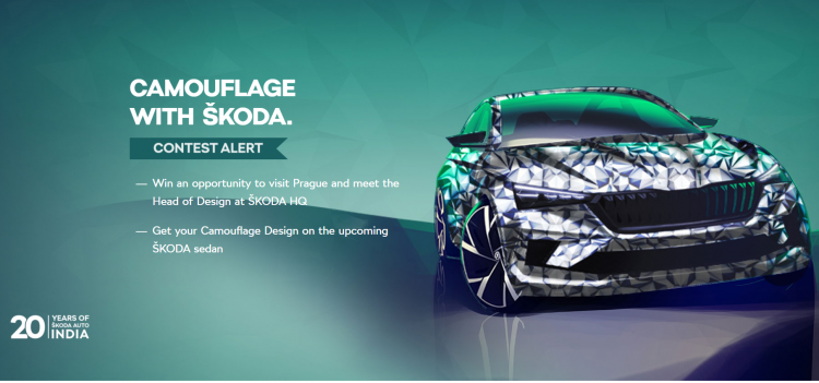 Camouflage With Skoda Innovation Contest
