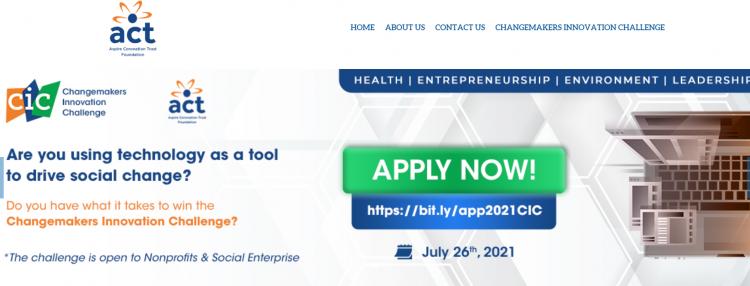 Changemakers Innovation Challenge